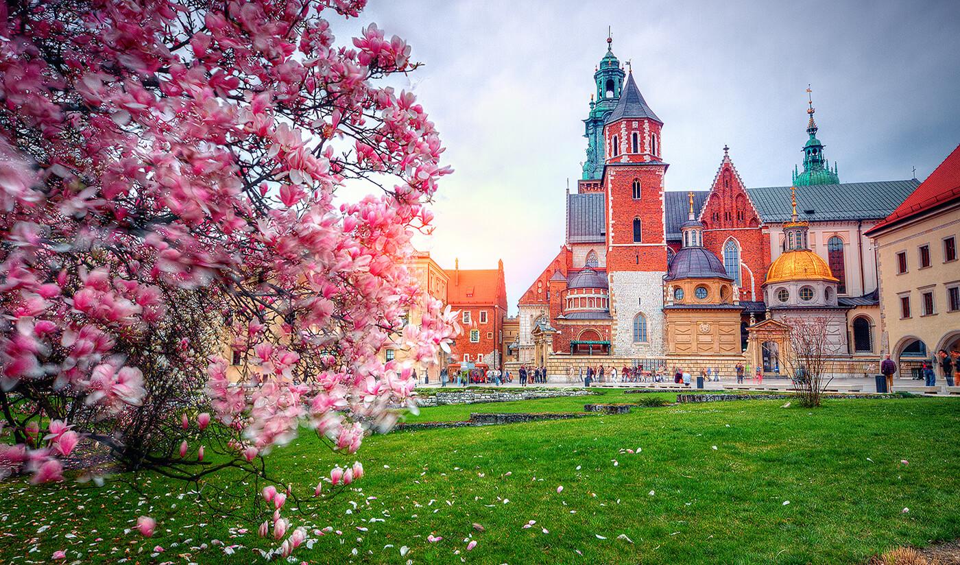 Gamla stan i Krakow