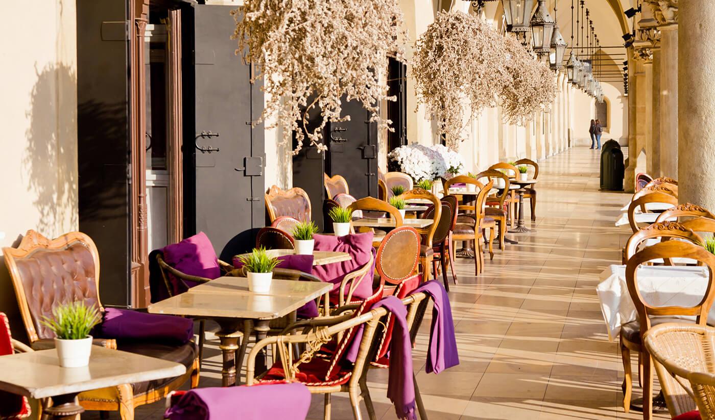 Restaurang i Krakow