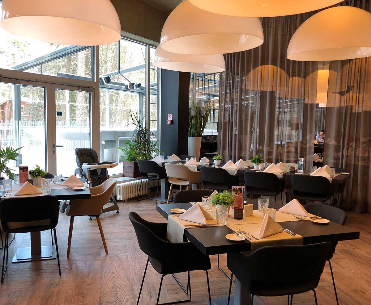 Restaurang på hotell Jurmala SPA