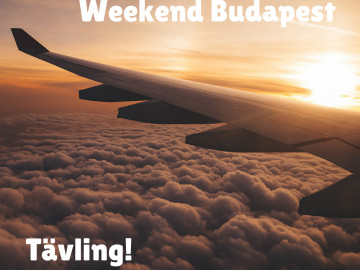 Tävling – paketresa till Budapest
