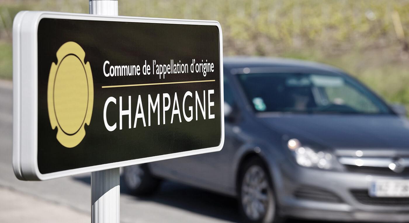 Bila i Champagne distriktet