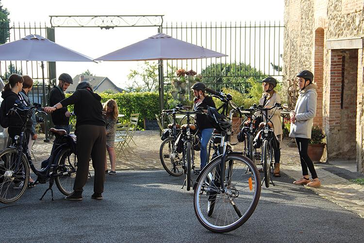 Cykeltur i Champagne