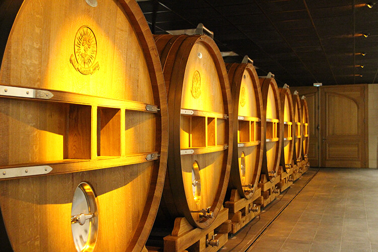 Vinkällare i Champagne