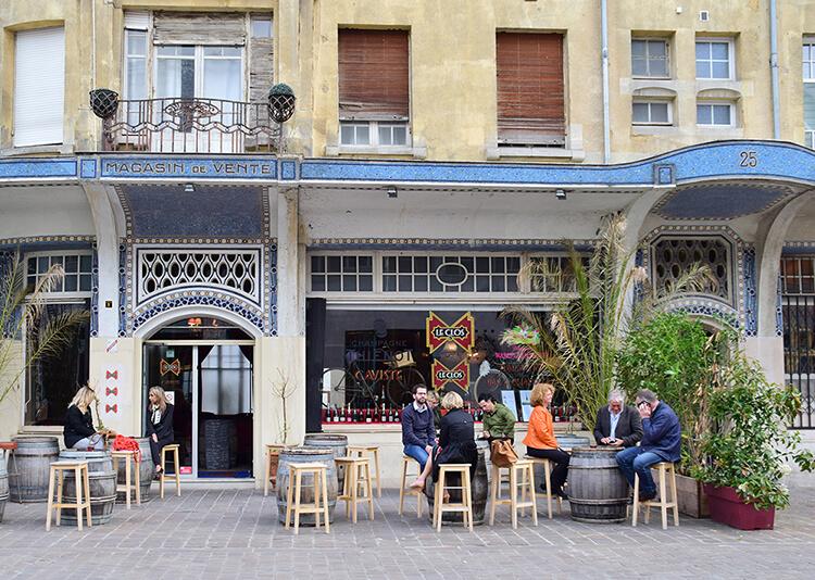 Bra restaurang för grupper