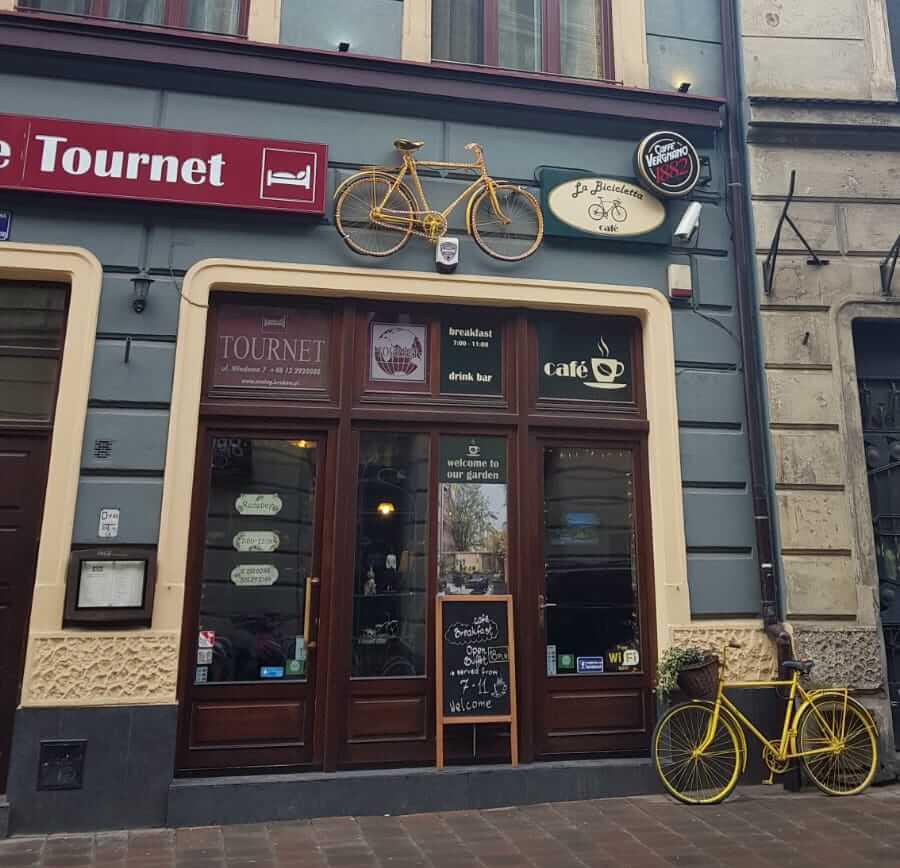 Affär i Krakow