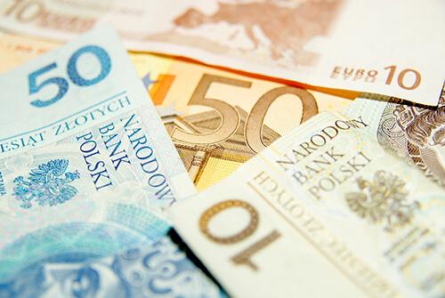 I Polen används valutan Zloty