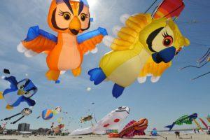 International Kite Festival @ Berck sur Mer, Frankrike