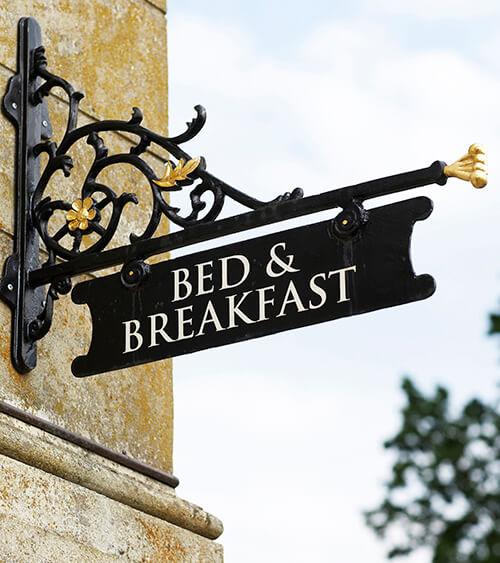 Boende på bed & breakfast på Irland