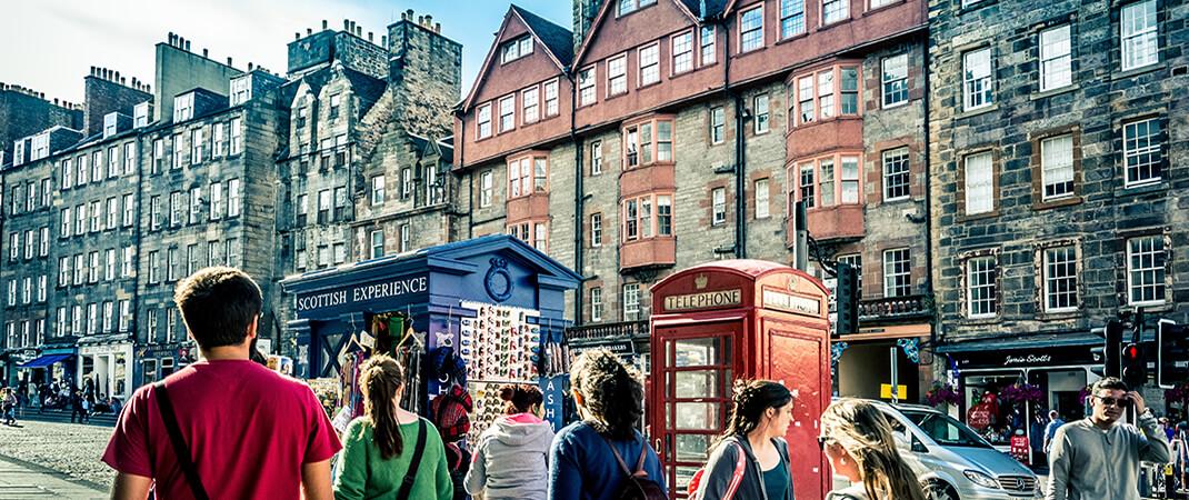 Reseguide för Edinburgh