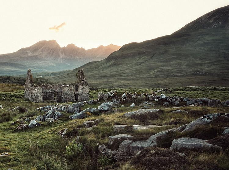 Slott och natur på Irland