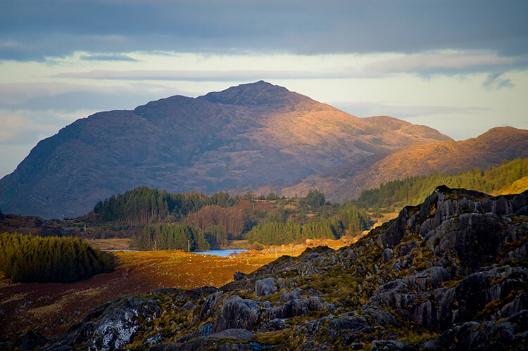 Vackert landskap på Irland