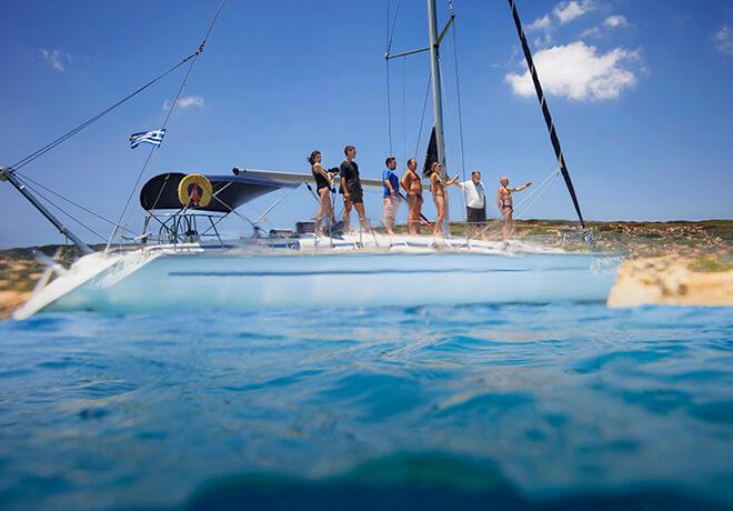 Aktiviteter till havs i Grekland