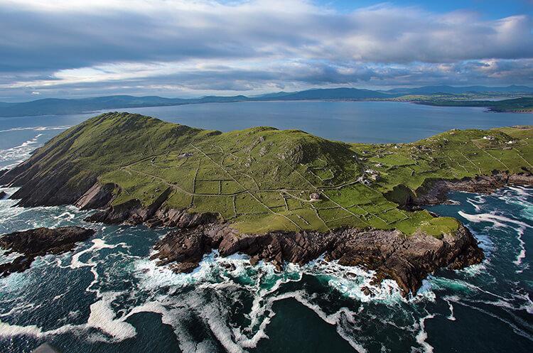 Ö och hav på Irland