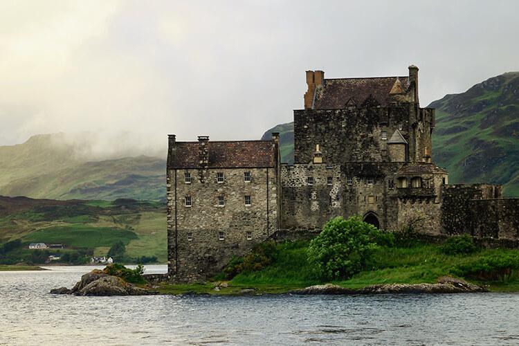 Slott på Irland