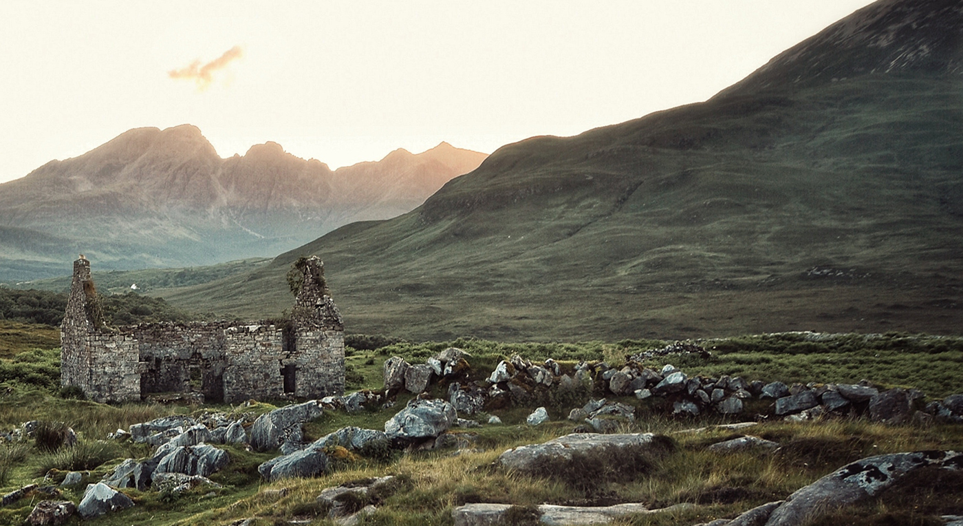 Historisk plats på Irland