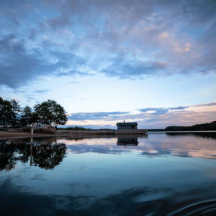 Vacker natur på Åland