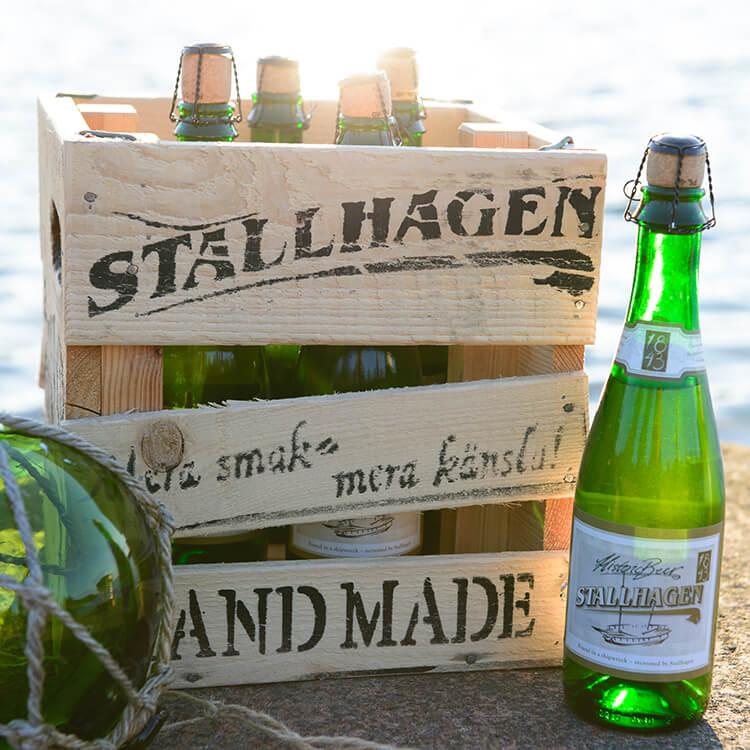 Stallhagen microbryggeri ligger i Godby på Åland