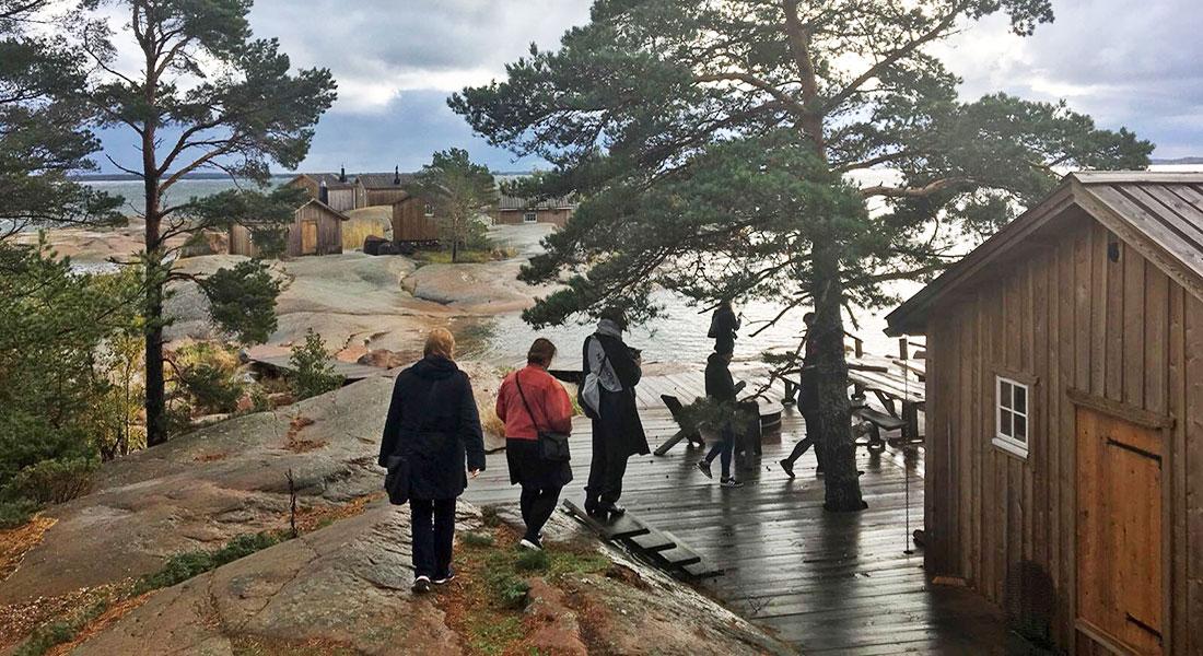 Vi hjälper er arrangera kickoffen på Åland