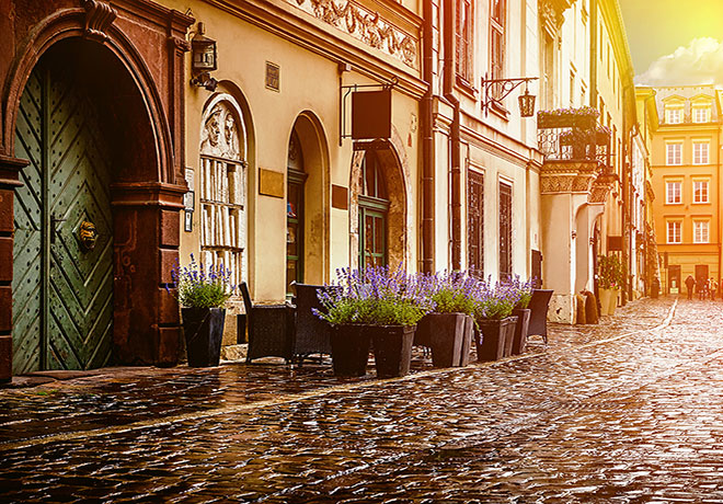 Resor till Krakow