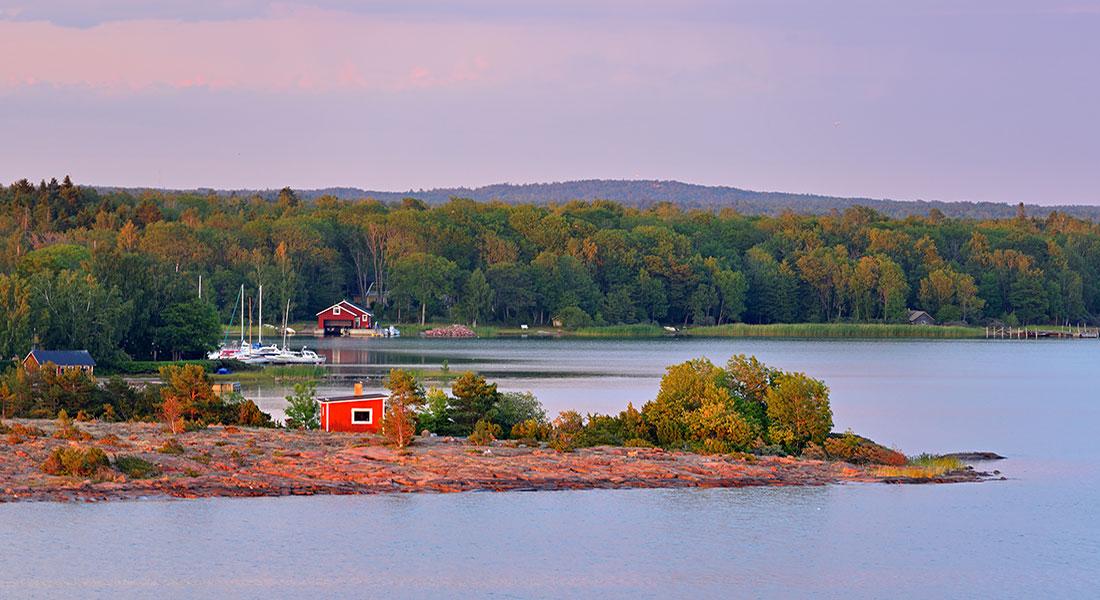 Under en resa till Åland får ni se och uppleva den åländska skärgården