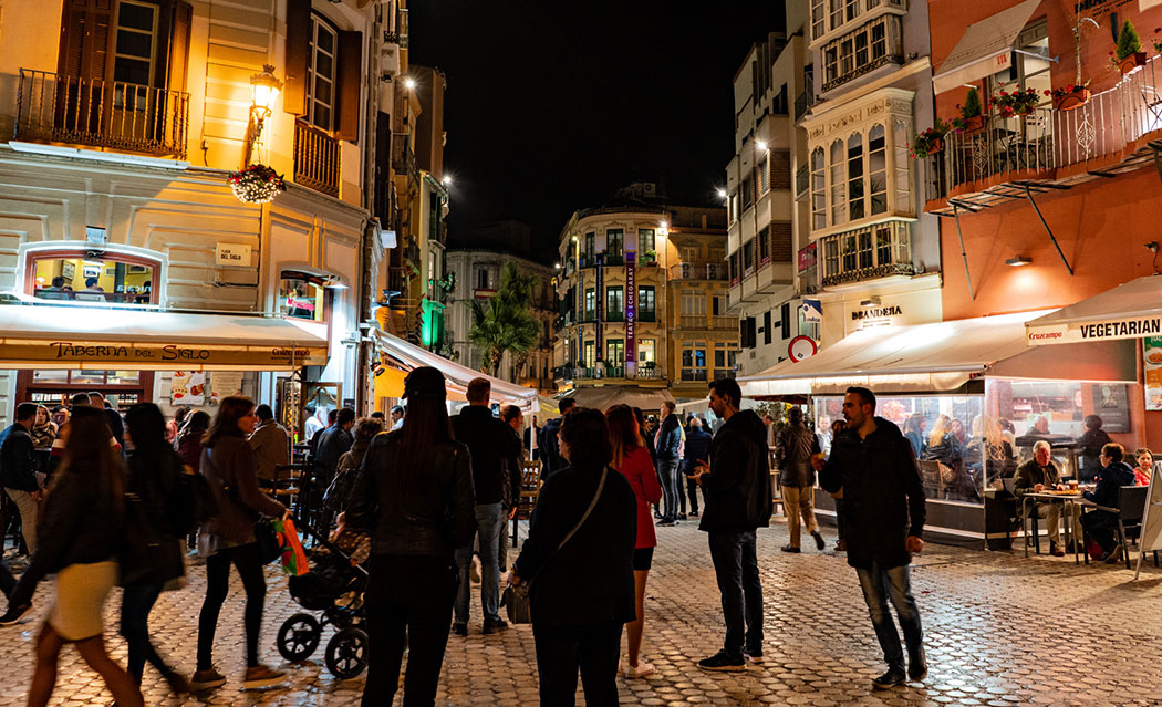 Shopping i Malaga