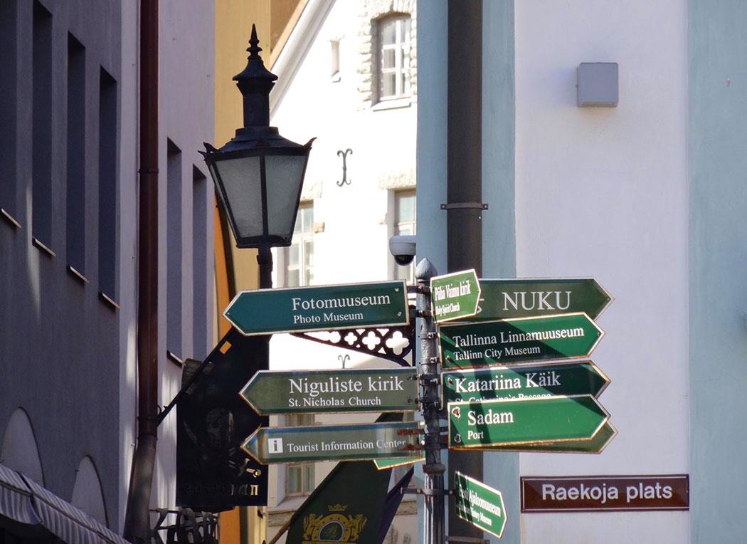 Shopping i Tallinn