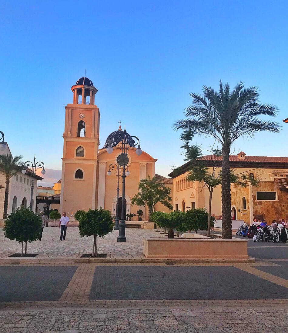 Hotell för stora grupper i Spanien
