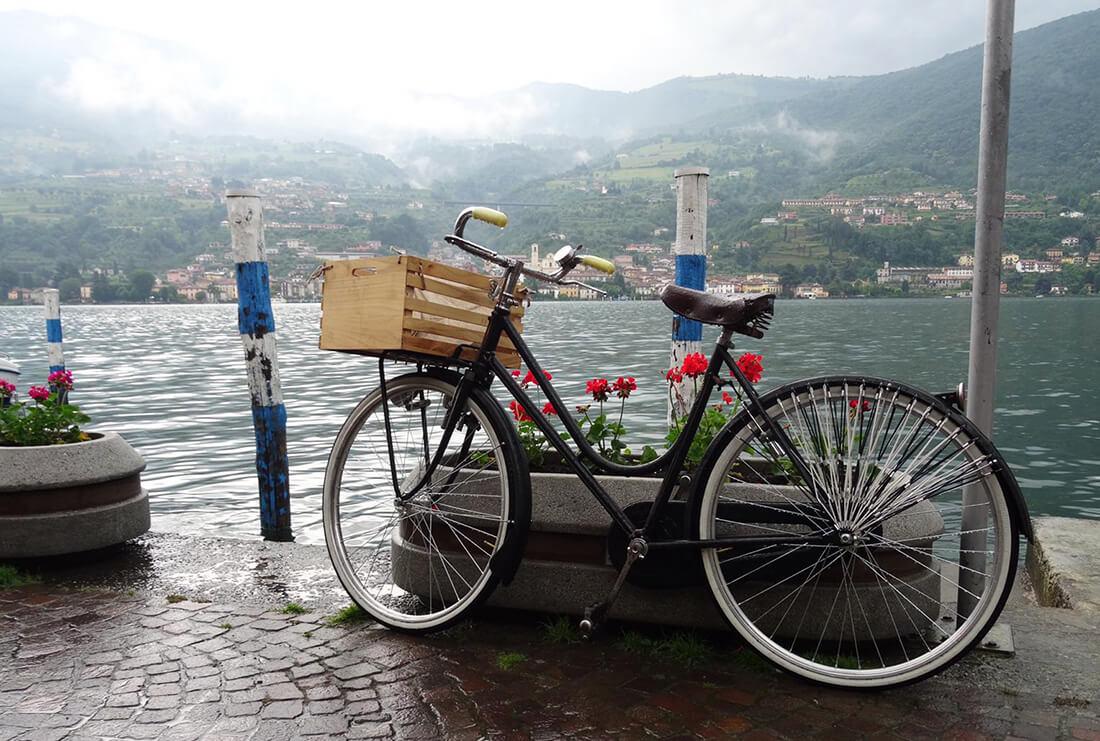 Cykling som aktivitet för företagsgrupper i Italien