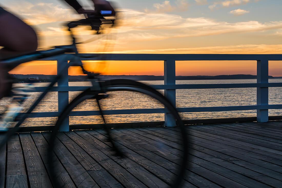 Cykeltur mellan Gdansk och Sopot