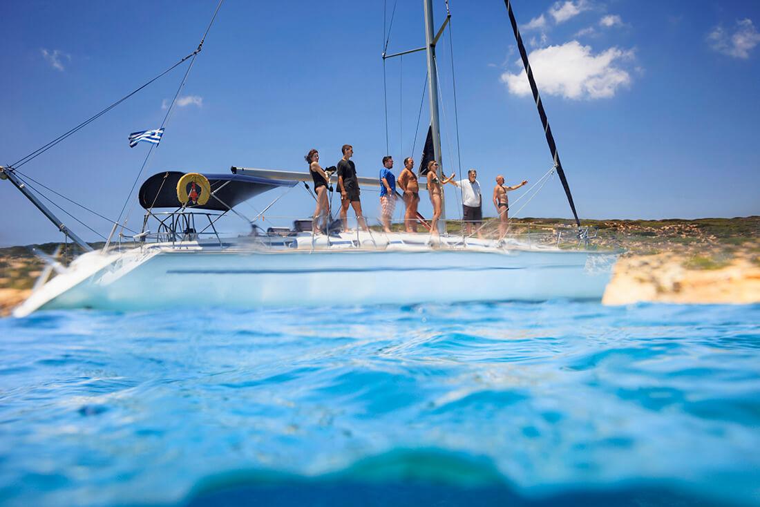 Aktivtet till havs för företagsgrupper i Grekland