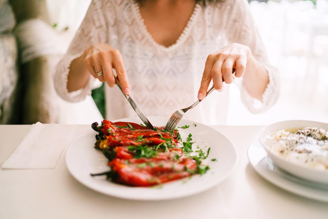 Mat-aktivitet i Grekland